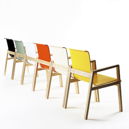 Artek - 403 Hallway Armchair, group, different colours