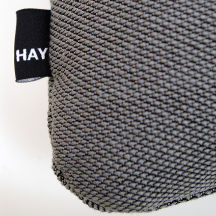 Hay - Dot 2x2 Steelcut Trio cushion, dark grey