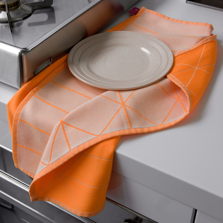 Hay - S&B dish towels, Hanging Grid