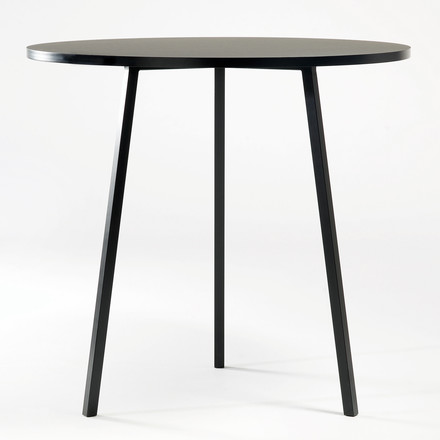 Hay - Loop Stand Bistro Table, black
