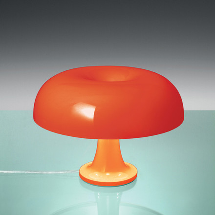 Artemide Nessino table lamp, orange