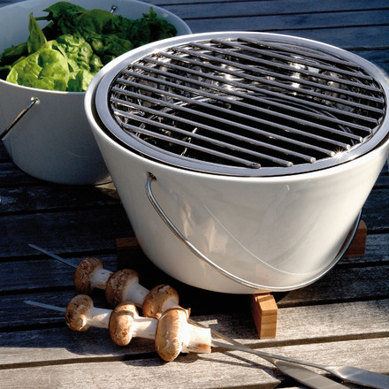 Eva Solo Table grill as a salad bowl and as a grill