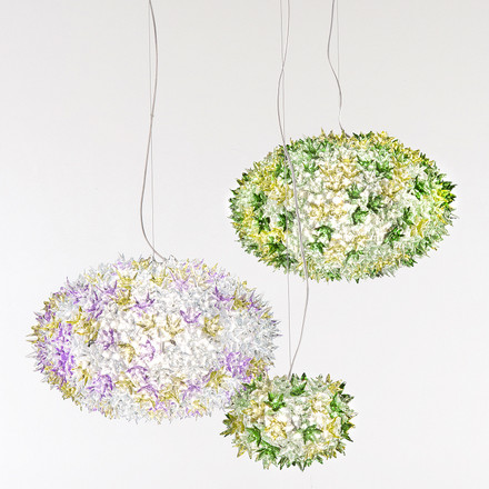Group image: Bloom Pendant Lamp, lavender and mint