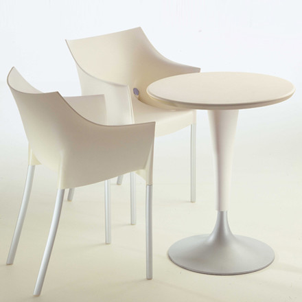 Group image: Dr. Na Bistro Table with Dr. No Chair