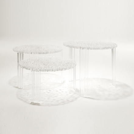 Kartell - T-Table, crystal clear