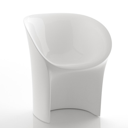 Moroso - Moon Chair, white, lacquered