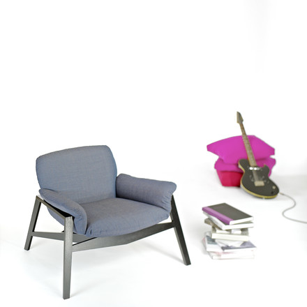 Single image in surrounding: Wogg 47 Lounger