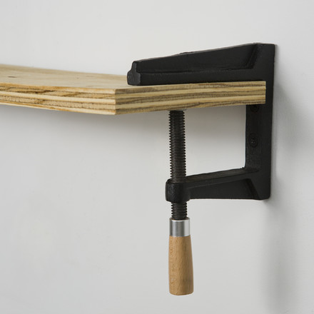 areaware - Wall Clamp Shelf with board