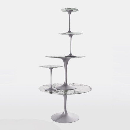 Knoll - Saarinen Tulip Side Table, round