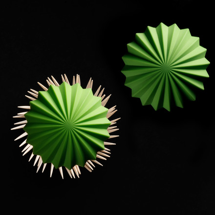 Essey - Cactus Toothpicks Holder - from above