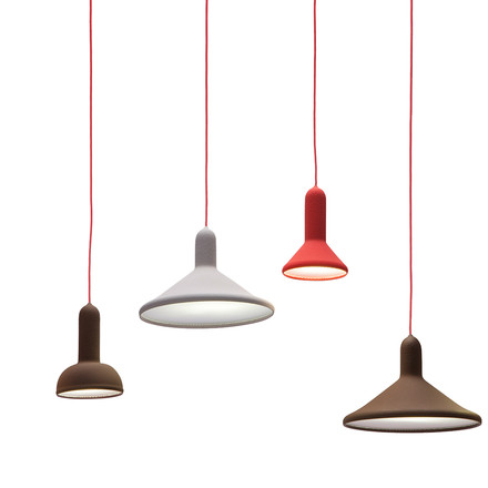 Established & Sons - Torch Light pendant lamp group
