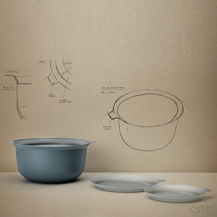 Rig-Tig by Stelton - Mixing Bowl Lid