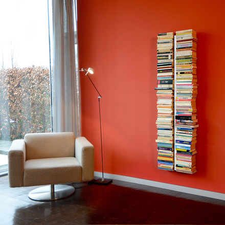 Radius Design - Books tree - I, big, white