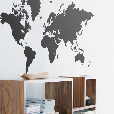 ferm Living - Wall Sticker World Map