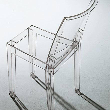 Kartell - La Marie, clear, atmosphere image, shadow, grey floor