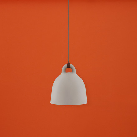 Bell pendant lamp by Normann Copenhagen in sand