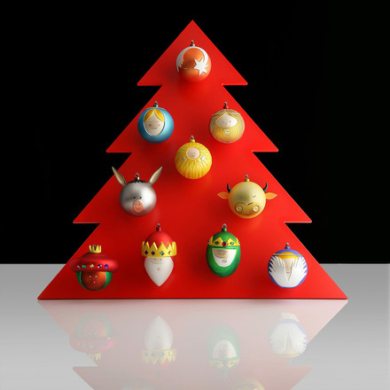 Christmas Baubles by A di Alessi