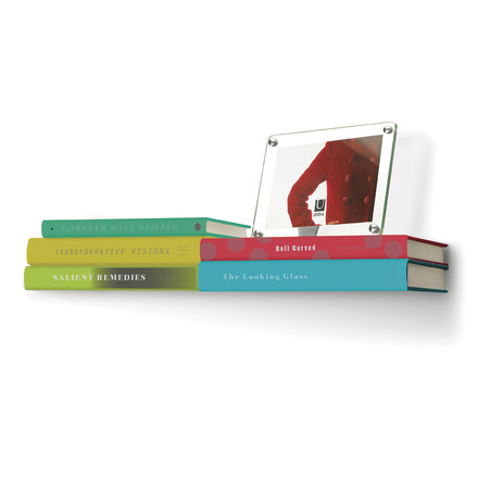 Umbra - Conceal Books Shelf, double