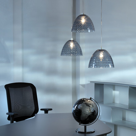 Koziol - Stella S pendant lamp, anthrcite, offie, atmosphere image