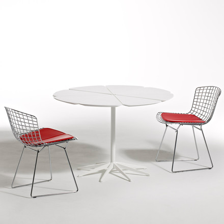 Knoll - Petal white dining table