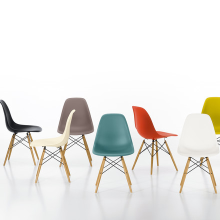 Vitra - Eames Plastic Side Chair DSW, different models - group image