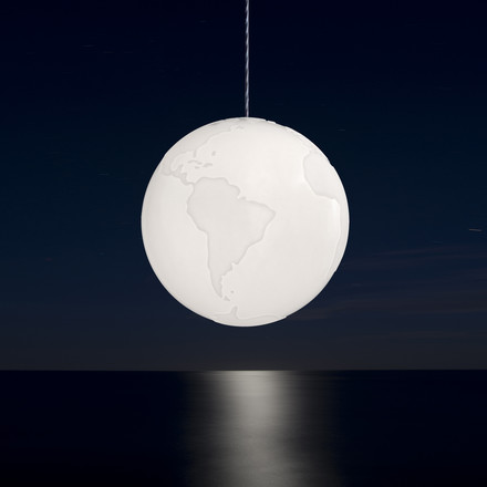Formagenda - Planet Earth pendant light - table, dark