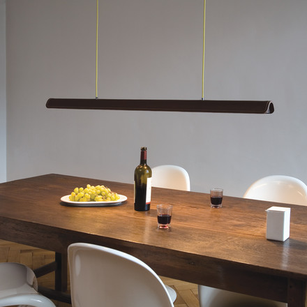 Formagenda - Cohiba pendant light, brown/ lime - dining room
