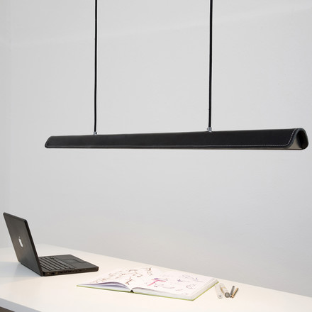 Formagenda - Cohiba pendant light, black/ black - desk