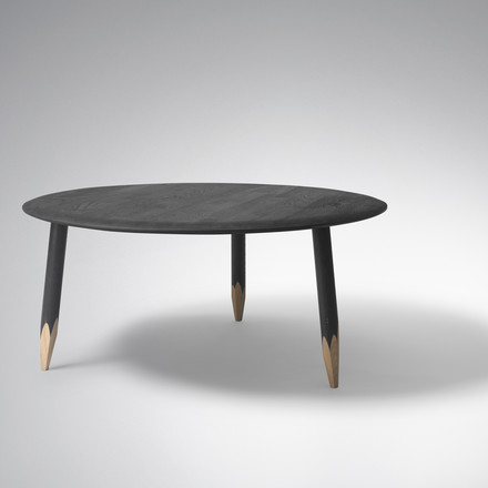 &tradition - Hoof Table, large, black