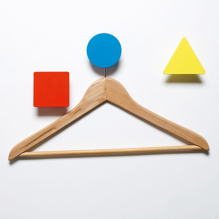 Domestic - Bauhaus Wall Hooks - with hanger