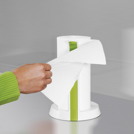 Joseph Joseph - Easy-Tear Kitchen roll holder, white - pull off