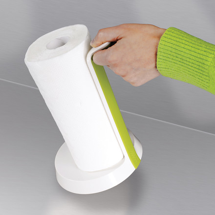 Joseph Joseph - Easy-Tear Kitchen roll holder, white - lifting
