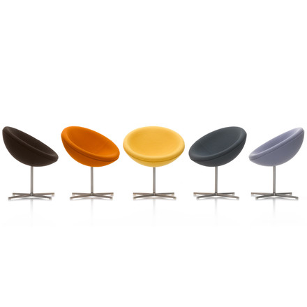 Vitra - C1 seat, Laser warm grey, mood image