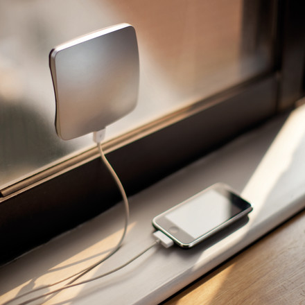 XD Design - Window Solar Charger, silver