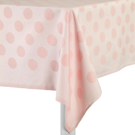 Hay - S&B Tablecloth Dot, pink - table