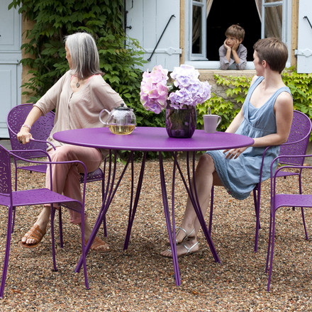 Fermob - Rendez-Vous table round, 110cm, purple