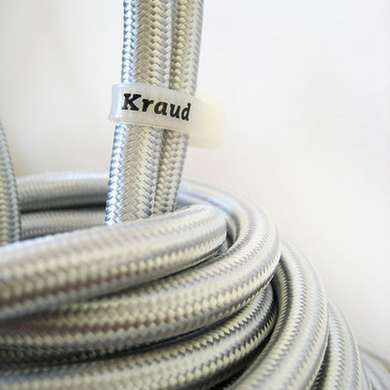 Kraud - Super-Light Classic, silver - cable, logo