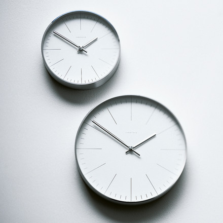 Max Bill Wall Clocks, Line - hanging at wall