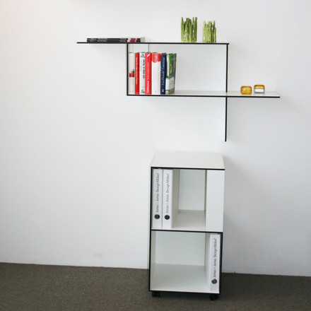 Jonas Jonas - Wallboard and Wallbox, white, situation image