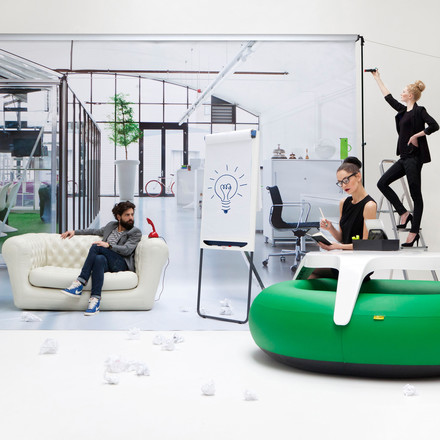Blofield - Donuts, office, green