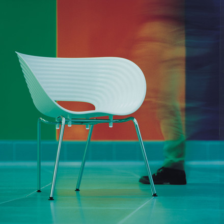 Vitra - Tom Vac, coloured background, ambience