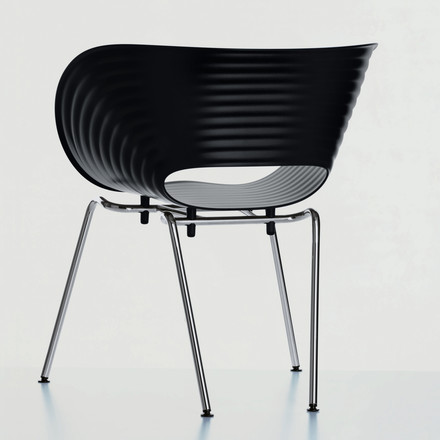 Vitra - Tom Vac, black, ambience