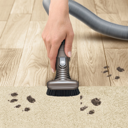 Dyson - Extra Hard Brush - in use