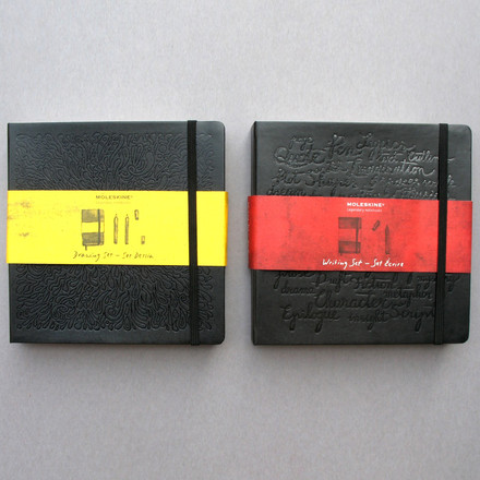 Moleskine - Drawing set and writing set