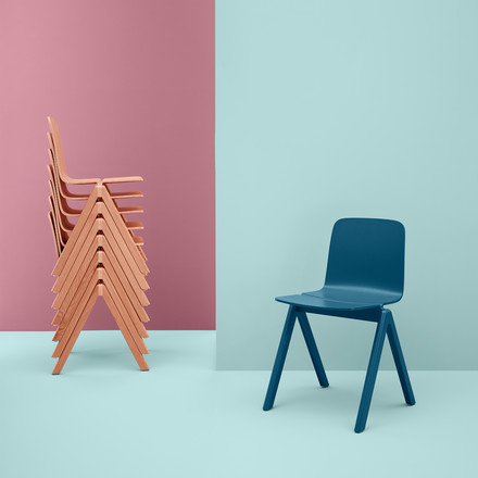 Hay - Copenhague, group stackable chairs