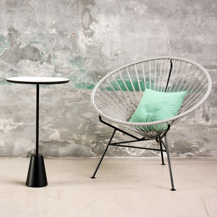 OK Design - The Condesa Chair, light grey, ambience image