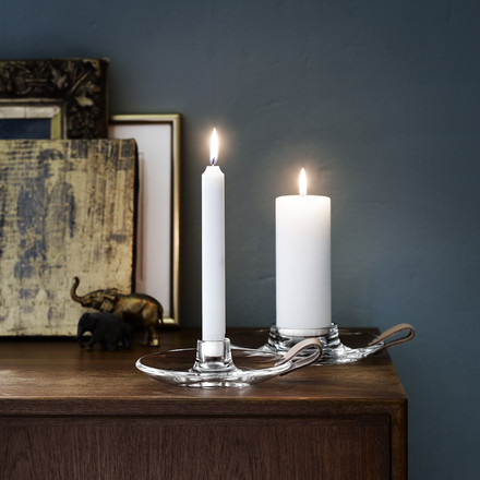 Holmegaard - Design with Light candleholders - both sizes, ambience image
