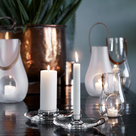 Holmegaard - Design with Light candleholder - both sizes, ambience image