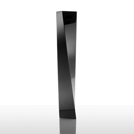 Officina Alessi - Crevasse vase, black