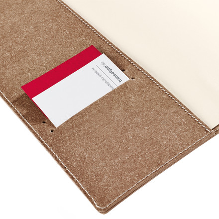 Holtz - sense Book Flap - pocket visiting cards, details image